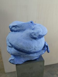 """Blue Out"" by Arlene Shechet"