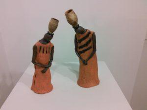 """2 African Women"" by Barbara Weiss, Clayton, MO"