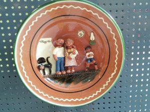 Platter by Szucs Andrea, Tiszafured